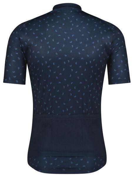 maillot de cyclisme vélo bleu foncé bleu foncé - 1000024251 - HEMA
