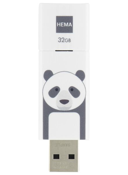 USB-Stick Panda, 32 GB - 39577705 - HEMA