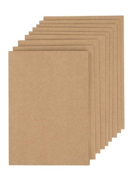 10er-Pack Aktenmappen, DIN A4 - 14880033 - HEMA
