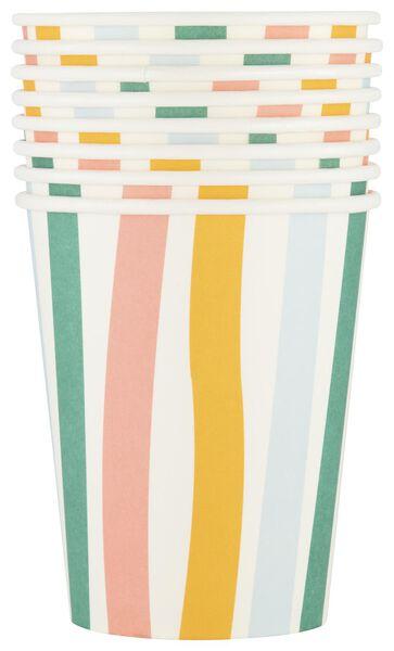 8 paper cups 250 ml - 14210101 - hema