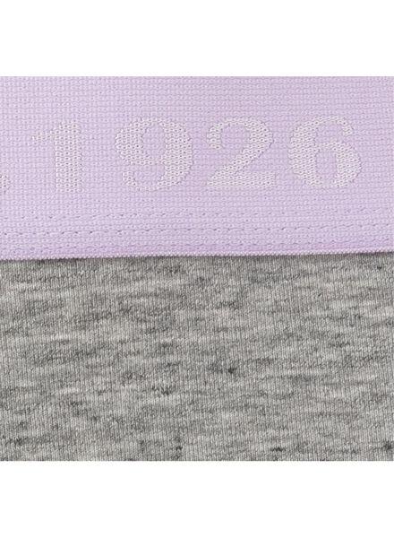 women's boxers grey melange grey melange - 1000006582 - hema