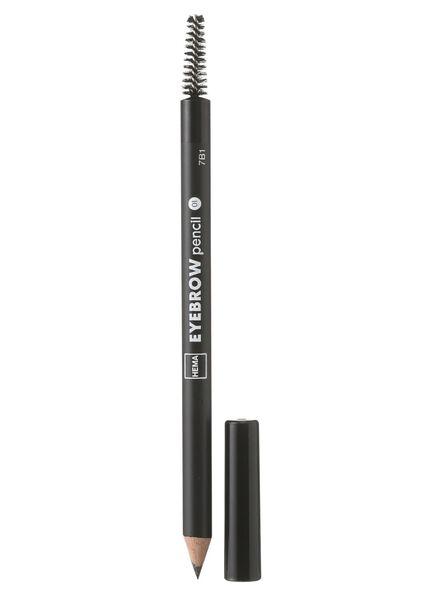 crayon sourcils noir 01 - 11214041 - HEMA