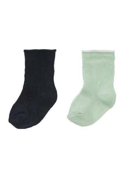 HEMA 2er Pack Kinder Socken Mintgrün