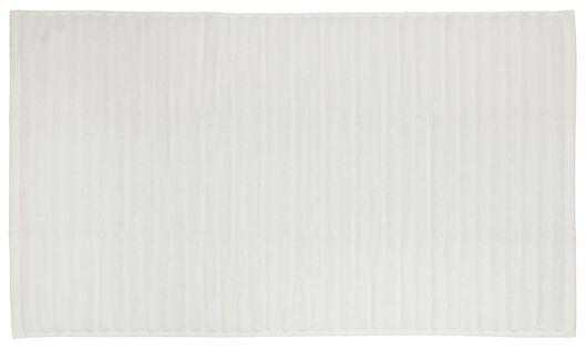 bath mat 50x85 stripe white - 5230047 - hema