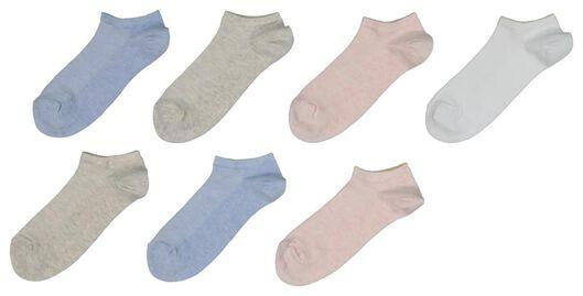 7-pack women's ankle socks multi multi - 1000017667 - hema