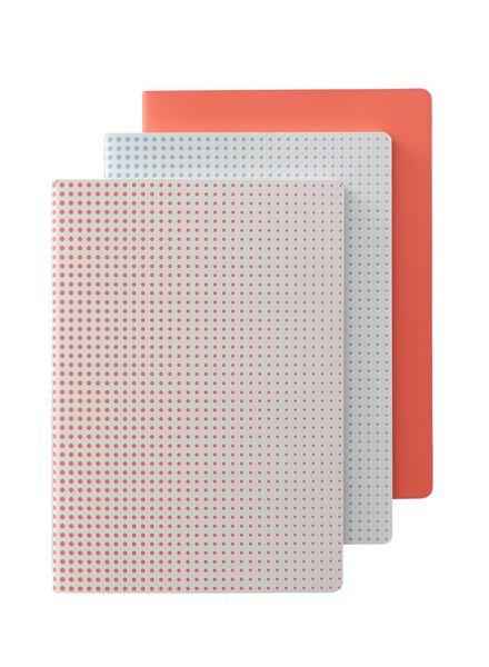 3-pak A5 notitieboekjes - 14101231 - HEMA