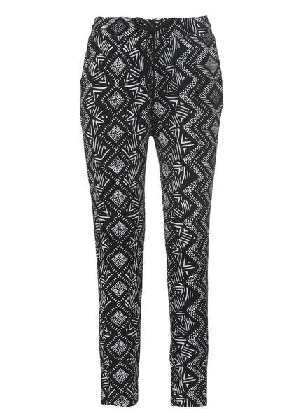 women's trousers black black - 1000006699 - hema