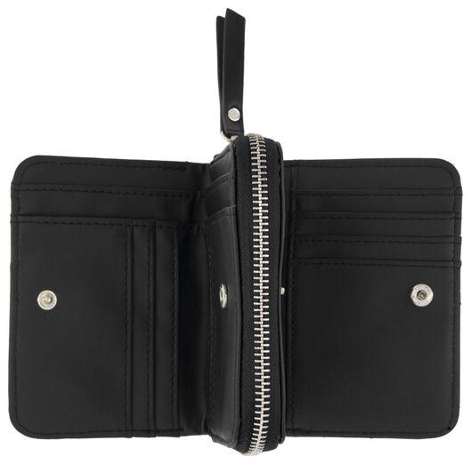Portemonnaie, 9 x 12 cm, schwarz - 18120097 - HEMA