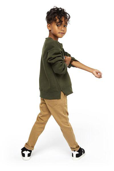 Kinder-Sweatshirt, Waschbär graugrün graugrün - 1000021500 - HEMA