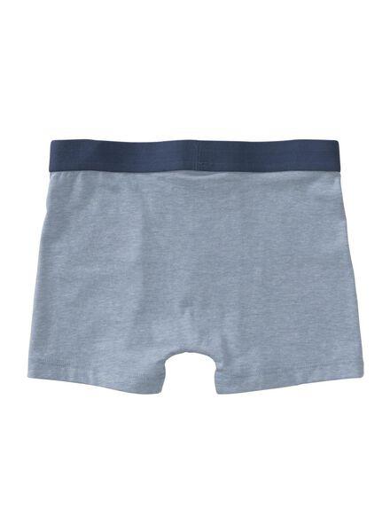 3-pack children's boxers blue blue - 1000006504 - hema