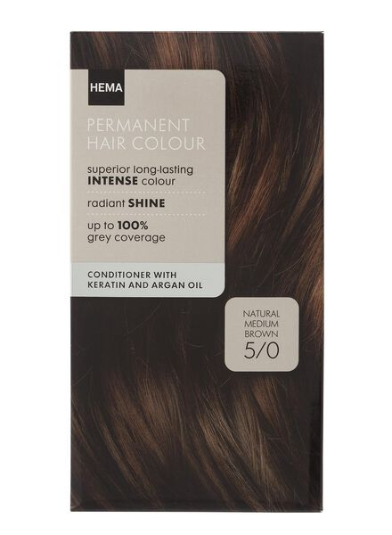 hair dye medium brown 5/0 - 11050002 - hema