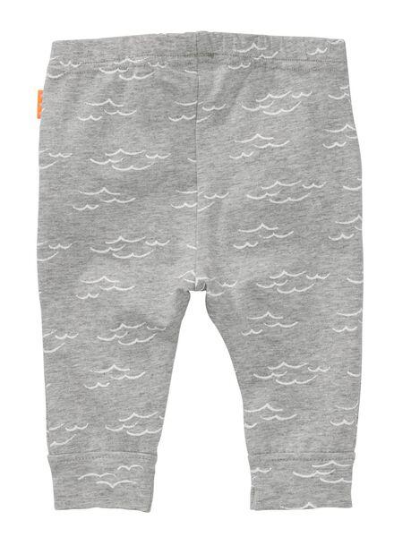 baby leggings grey melange grey melange - 1000007201 - hema