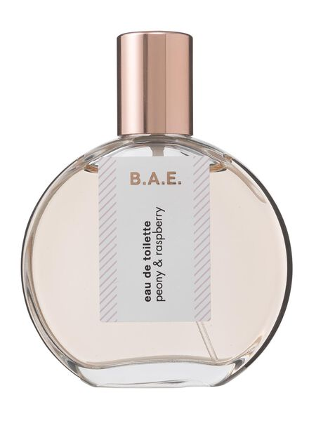 B.A.E. eau de toilette peony and raspberry 50ml - 17730001 - HEMA