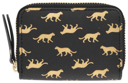 HEMA Portemonnaie, 8 X 11 Cm, Panther