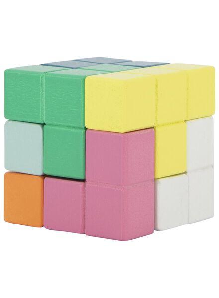 Holz-Puzzle, Würfel - 15190305 - HEMA