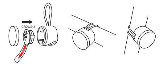 2 lampes LED pour vélo - 41198089 - HEMA