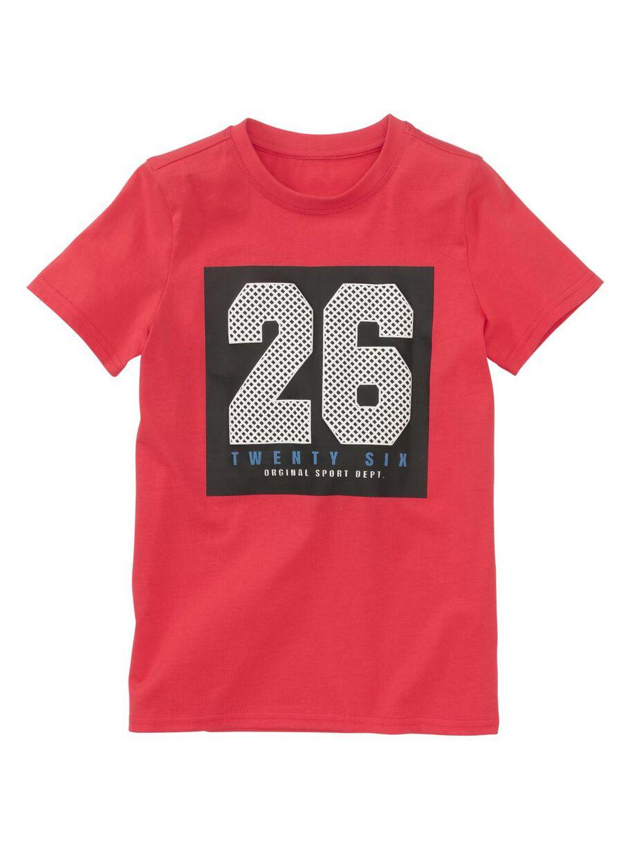 e4899dab9f6316 afbeeldingen kinder t-shirt rood rood - 1000011295 - HEMA