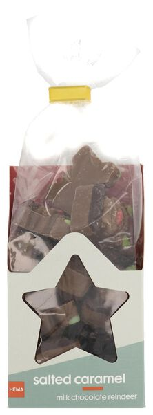 milk chocolate caramel sea salt 180 grams - 10040114 - hema