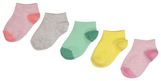 5-pack children's ankle socks multi multi - 1000019054 - hema