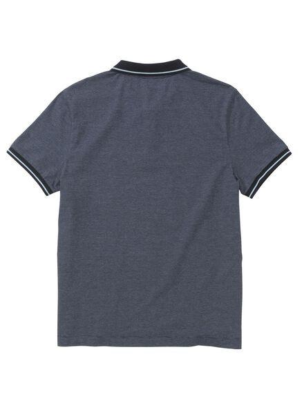 men's polo shirt dark blue dark blue - 1000008002 - hema
