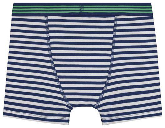 2er-Pack Kinder-Boxershorts grün grün - 1000018432 - HEMA