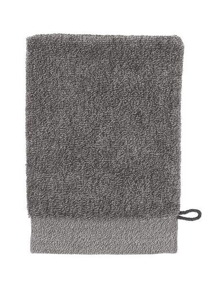 gant de toilette - bambou - gris foncé - 5200133 - HEMA