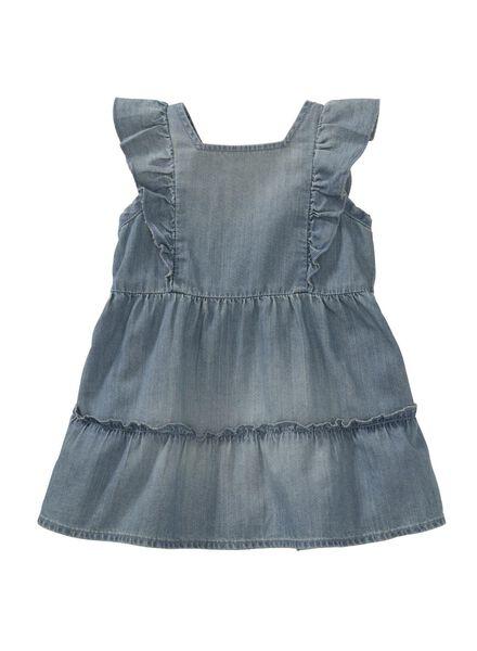 HEMA Baby Kleid Jeansfarben