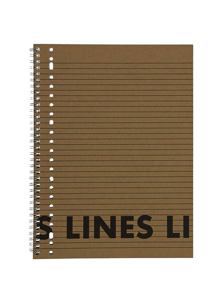 3 lecture notebooks A4 ruled - 14101640 - hema