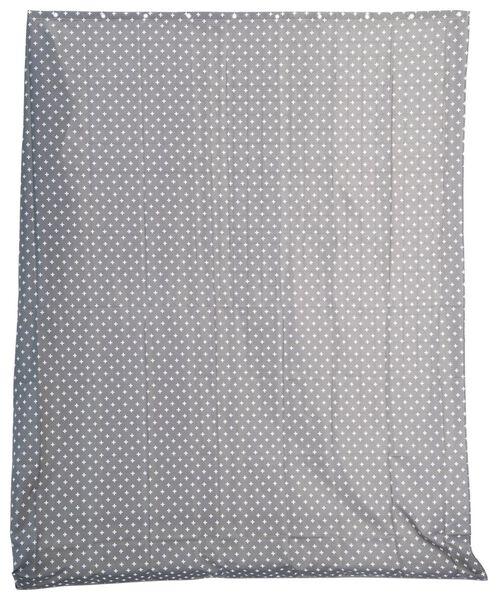 shower curtain - 180x200cm - textile - grey/white - 80350002 - hema