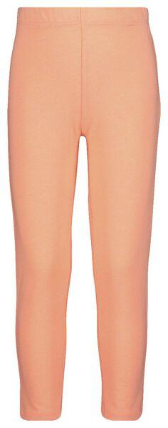 capri-style children's leggings fluor pink fluor pink - 1000019002 - hema
