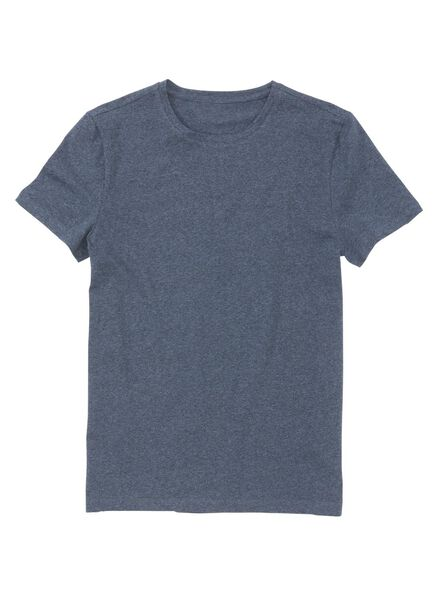 men's T-shirt dark blue dark blue - 1000006120 - hema