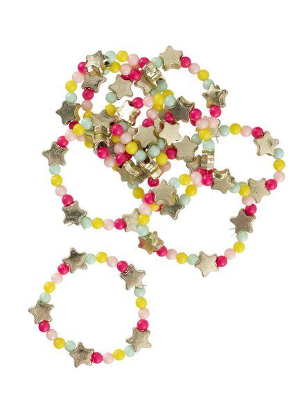 bracelets de couleur 8 pièces - 14230093 - HEMA