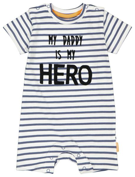 Newborn-Jumpsuit, Daddy eierschalenfarben eierschalenfarben - 1000024200 - HEMA