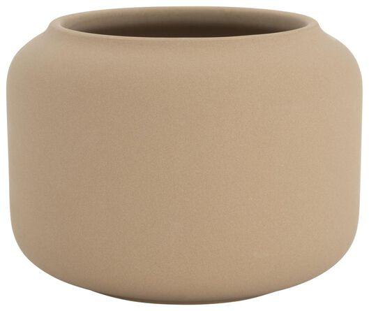 flower pot Ø15x11.5 earthenware natural 15 x 11.5 light brown - 13311047 - hema