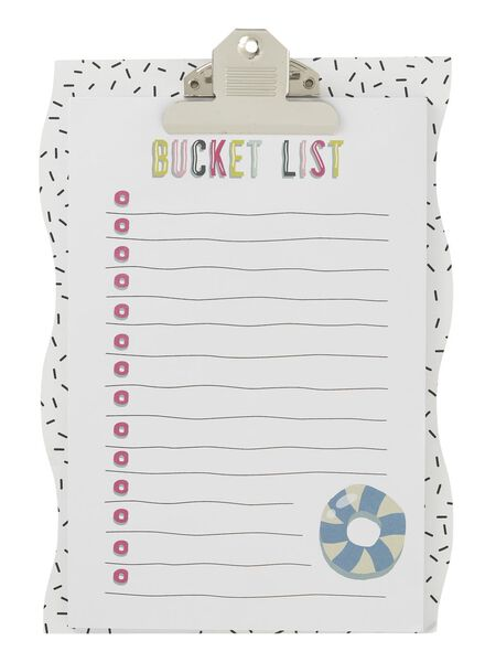 porte-bloc bucketlist - 60700487 - HEMA