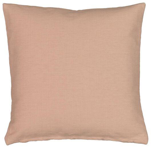 cushion cover - 40x40 - ribbed - pink - 7320007 - hema