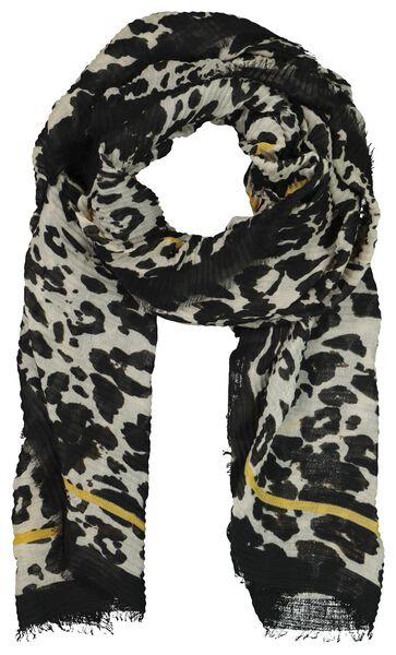 écharpe femme 200x80 plissé camouflage - 1790017 - HEMA