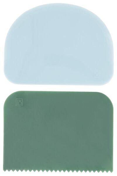 Image of HEMA 2 Cake Scrapers (mint green)