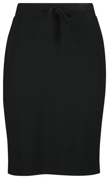 women's skirt black black - 1000019219 - hema