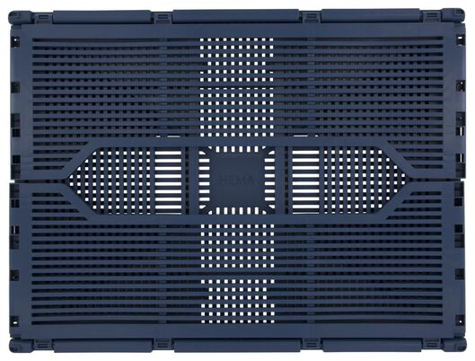 folding crate letter board recycled 30x40x17 blue - 39811131 - hema