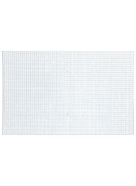 3er-Pack Hefte – 16.5 x 21 cm – kariert – 5 x 5 mm Karo - 14101601 - HEMA