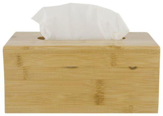 boîte en bambou pour mouchoirs en papier - 80310023 - HEMA