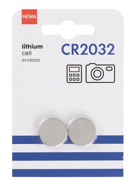 2er-Pack Batterien, Typ CR2032 - 41290277 - HEMA