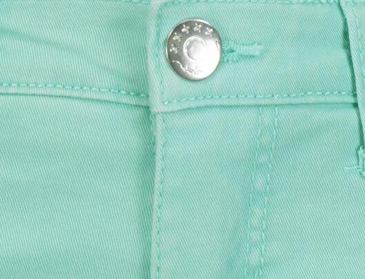 Kinder-Shorts mintgrün mintgrün - 1000018505 - HEMA