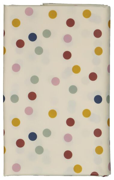 table oil-cloth 140x240 polyester dots - 5300114 - hema