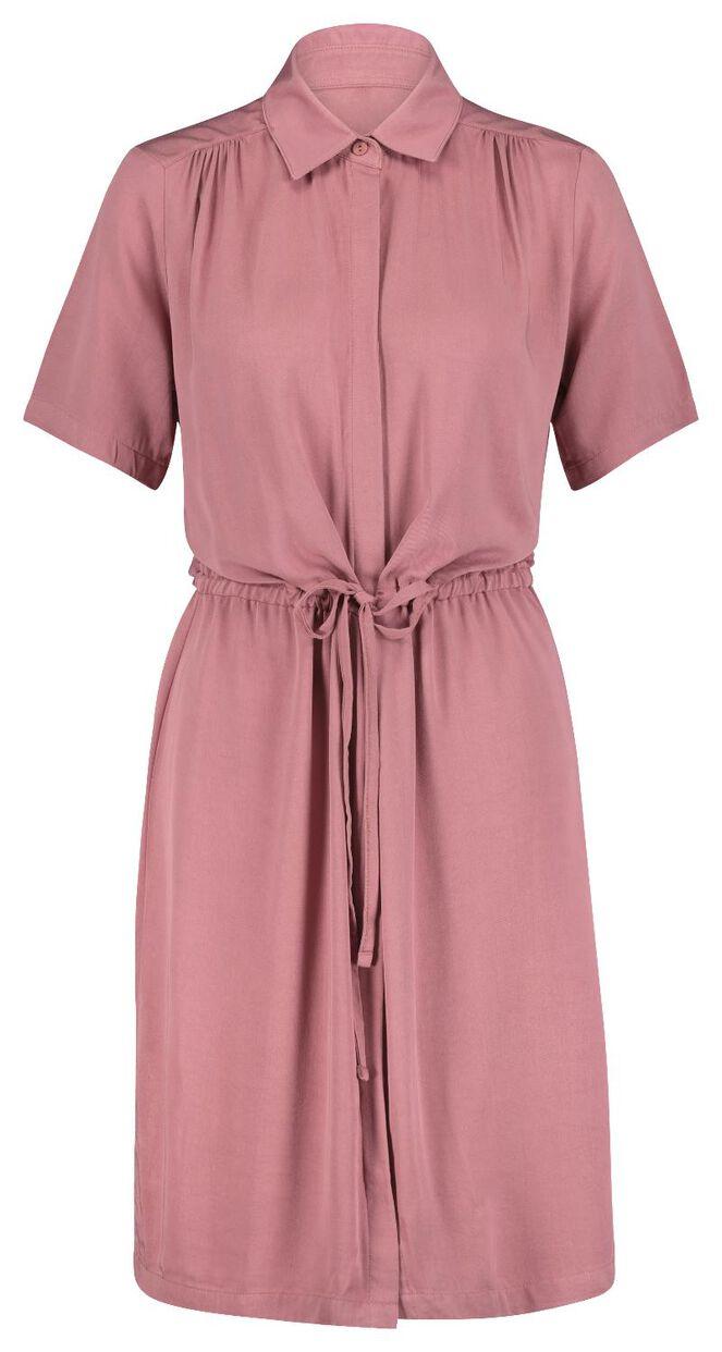 damen-kleid rosa - hema