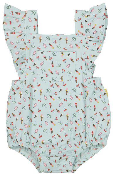 newborn jumpsuit blue blue - 1000019822 - hema