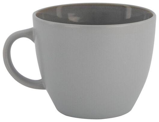 mug - 7,5 cm - Helsinki - émail réactif - gris clair - 9602019 - HEMA