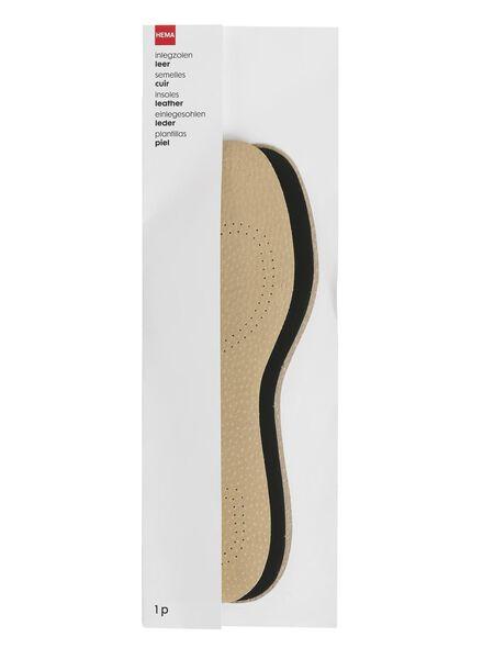 semelles intérieures cuir pointure 45-46 - 20500057 - HEMA
