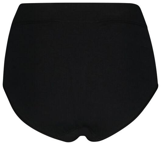 damesslip hoge taille firm control zwart zwart - 1000019709 - HEMA